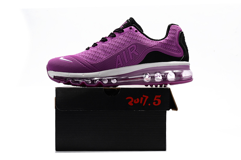 sports shoes 29999 200a0 Nike Air Max 2017. 5 KPU Purple Black White Women's Running Shoes  NIKE-ST000813