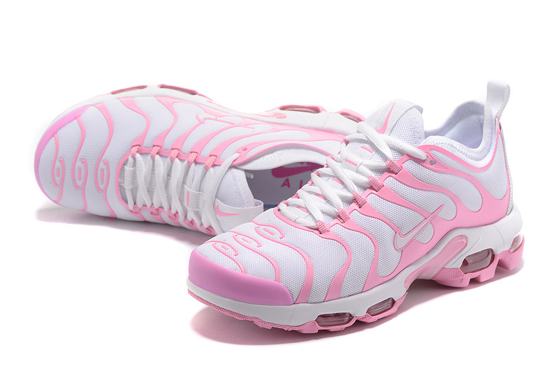 94301e7a27 Nike WMNS Air Max Plus Ultra SE White Pink 830768 552 Women's Running Shoes
