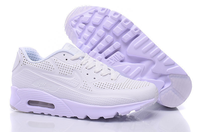 free shipping 5515d 07b0c ... shopping nike air max 90 ultra moire triple white b42b0 c4ef9
