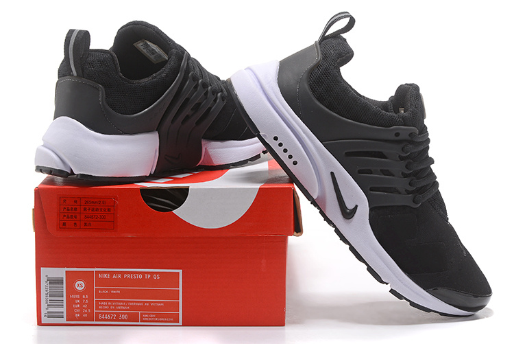 pick up 1357f 72f5a ACRONYM x Nike Air Presto Low Black White Men s Trainers Running Shoes  844672-300   WithTheSale.com