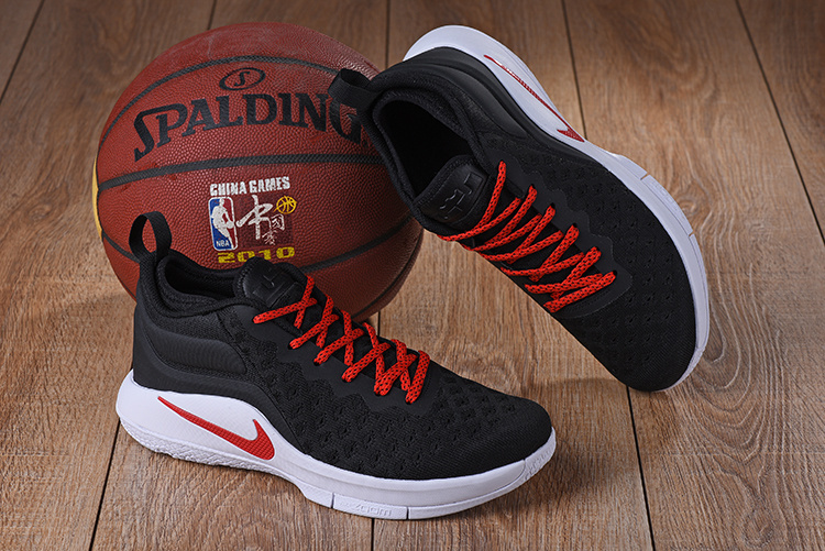 2b66ae956d6 Nike Lebron Witness II EP 2 Flyknit Black Red White Men s Basketball Shoes