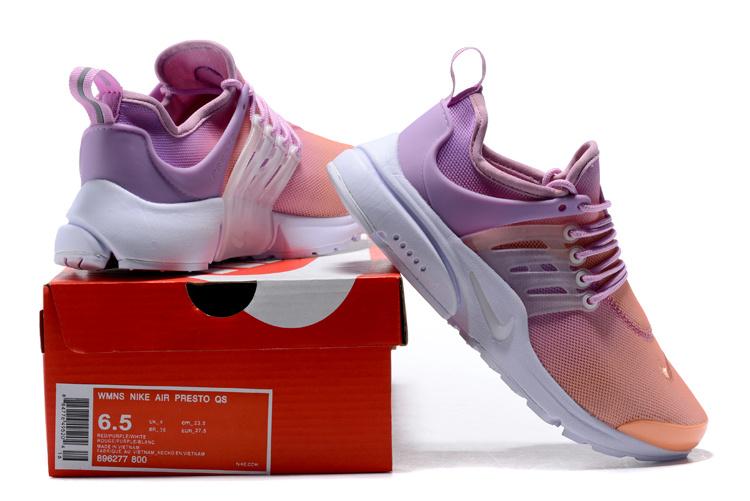 best service b6d50 51acc Nike Wmns Air Presto Ultra Breathe Sunset Glow Pink Purple White Women's  Running Shoes 896277-800