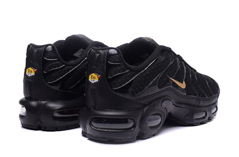 Nike Air Max Plus TN 2019 Black Yellow Men's Running Shoes