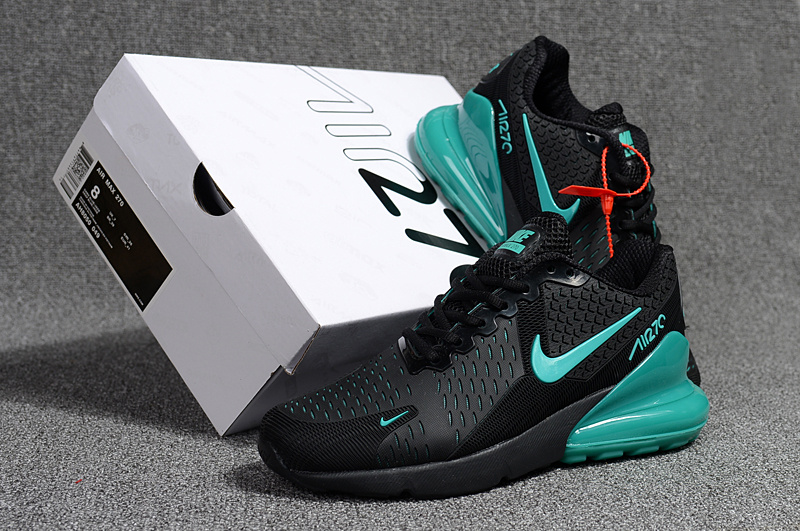 Nike Air Max Flair 270 KPU Black Hyper Jade Men s Running Shoes NIKE ... 6609dd842