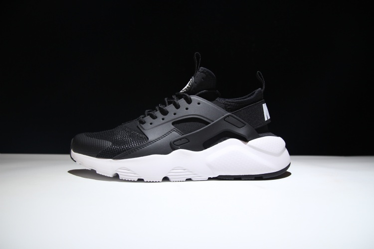 3b878d1babb7 Nike Air Huarache Ultra White Black Women s Men s Casual Shoes ...
