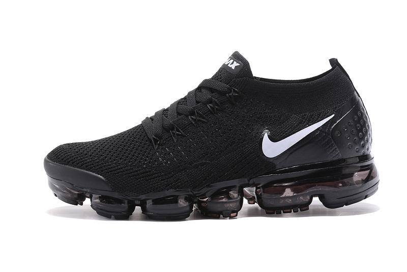 f70ca392a2fbf Nike Air VaporMax Flyknit 2 TPU Black White Women s Men s Running Shoes