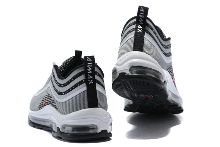finest selection ed4b3 9394b Nike Air Max 97 UL  17 Silver Bullet Metallic Silver Varsity Red Black  White Men s