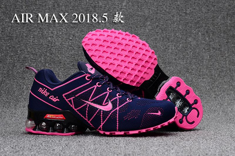purchase cheap 0ac1d 9afb2 Nike Air Ultra Max Shox Purple Pink Black Women's Running Shoes  NIKE-ST000335