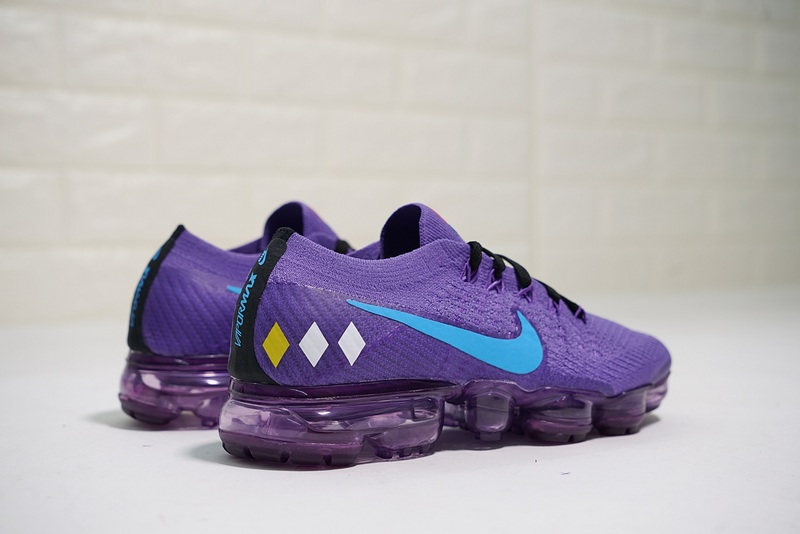 new products cac98 a5fc2 Nike Air VaporMax Flyknit Dragon Ball Z Purple AA3859-015 Women's Running  Shoes AA3859-015q