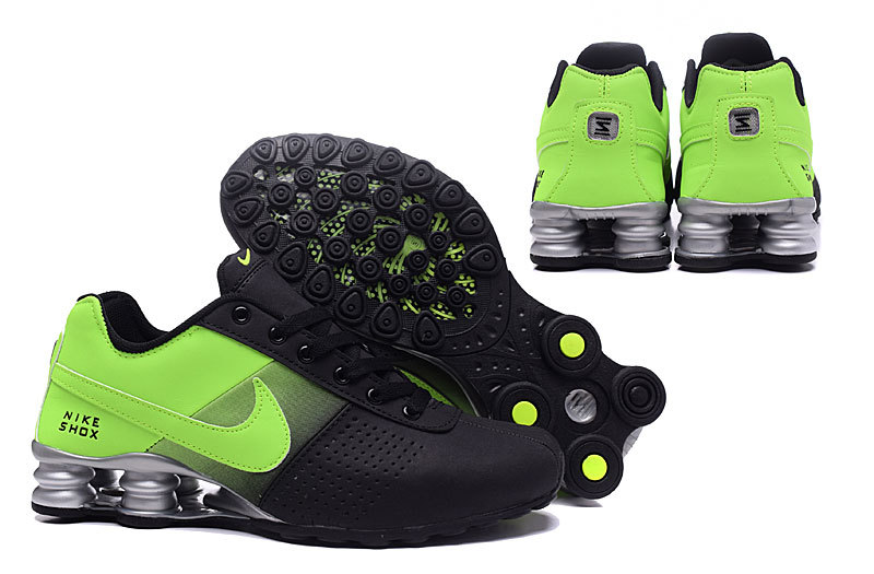 bf26a0c224d Nike Shox Deliver Black Green NZ Men s Running Shoes NIKE-ST000356 ...