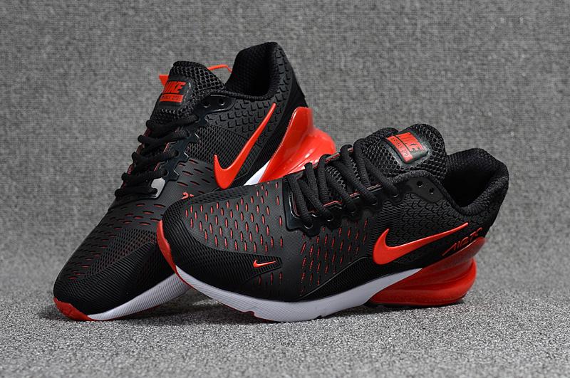 2f2a0e772bd58 Nike Air Max Flair 270 KPU Black Red White Men's Running Shoes NIKE ...