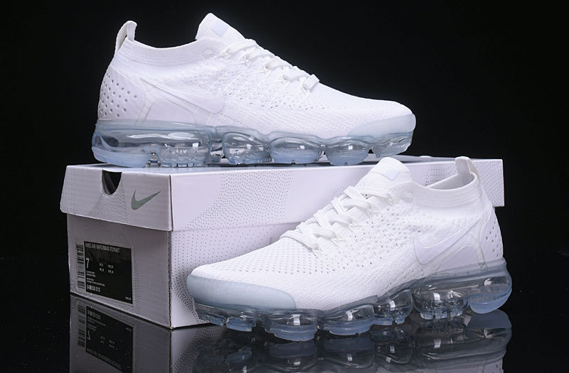 more photos 2903b edb8a Nike Air Vapormax 2. 0 Triple White Women's Men's Running Shoes 942842-100