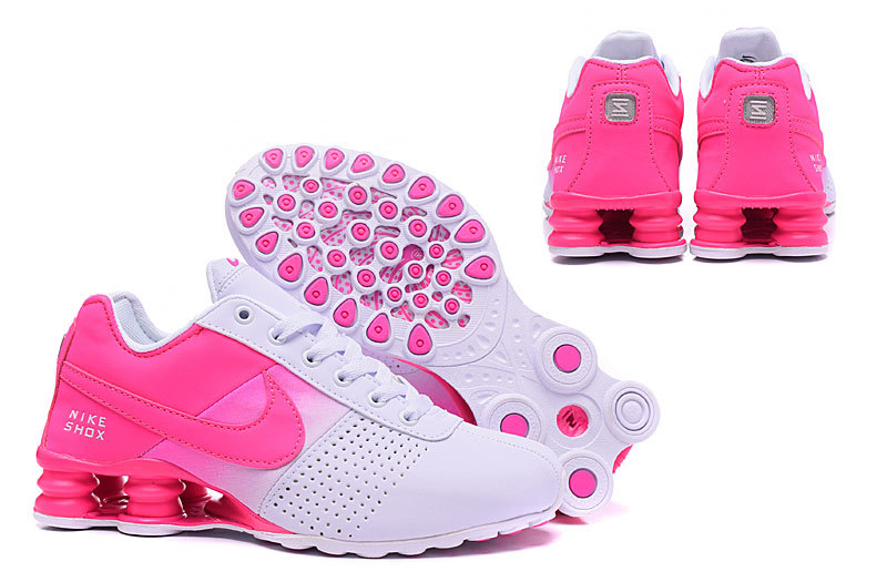 Nike Shox Deliver Hyper Pink White NZ Women s Running Shoes NIKE ... 875a3bc08