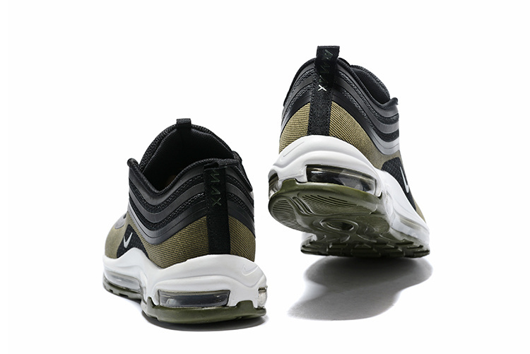 4d1a06b1f00 Nike Air Max 97 Ultra  17 HAL Black Medium Olive Light Pumice Dark Hazel  Men s