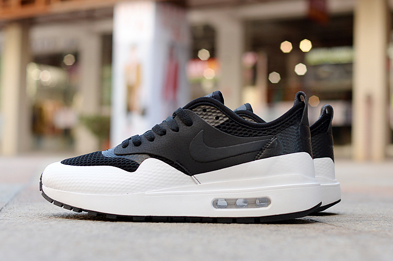 Nike Air Max 1 Ultra Essential Black White Men's Running Shoes Sneakers NIKE ST001067