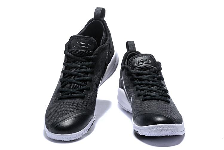 b3bd6a6fdad6 Nike Lebron Witness II EP 2 Black White Men s Basketball Shoes ...
