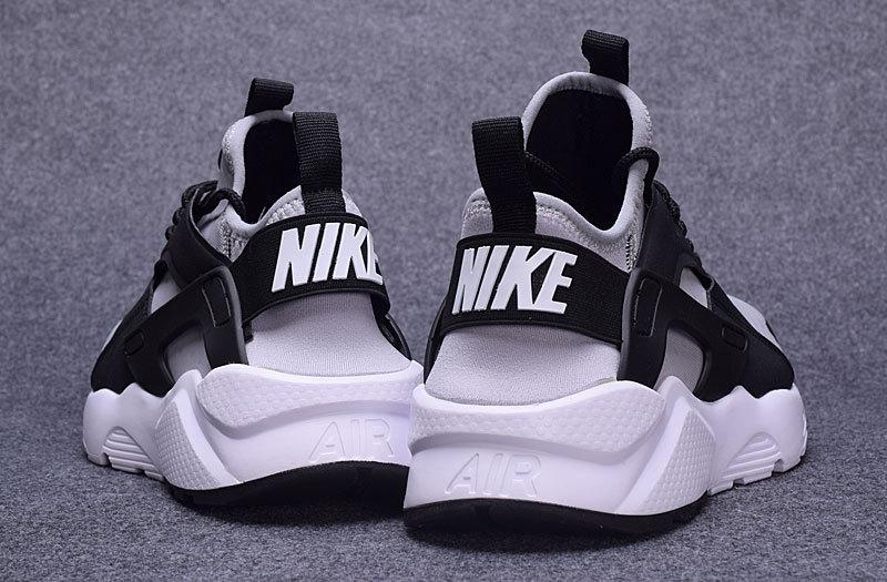 c9d7e62e5ccfc5 Nike Air Huarache Run Ultra Wolf Grey Black Cool Grey White Men s Women s  Casual Shoes