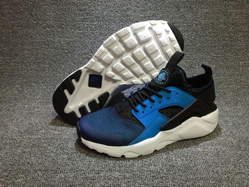 1e3b5258d405 Nike Air Huarache Run Ultra Blue Lagoon White Black Men s Women s ...