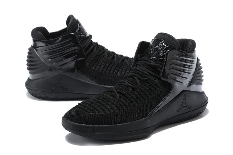 4bd24c65018 Nike Air Jordan XXXII AJ32 Triple Black Men's Basketball Shoes NIKE ...