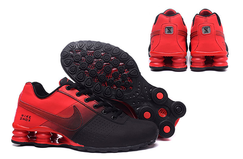 brand new 2cc9f 68574 Nike Shox Deliver Black Red ...