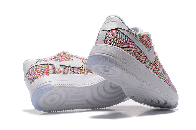 newest 98e10 6d585 Nike Air Force 1 Ultra Flyknit Low Multi Color Women s Casual Shoes Sneakers