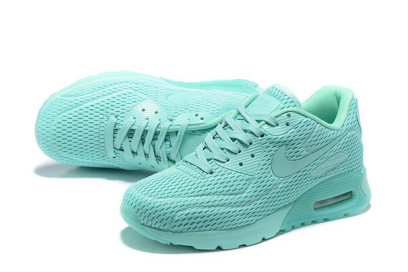 f9c176b5b6fe6 Nike Air Max 90 Ultra Breathe Hyper Jade Men's Women's Running Shoes ...