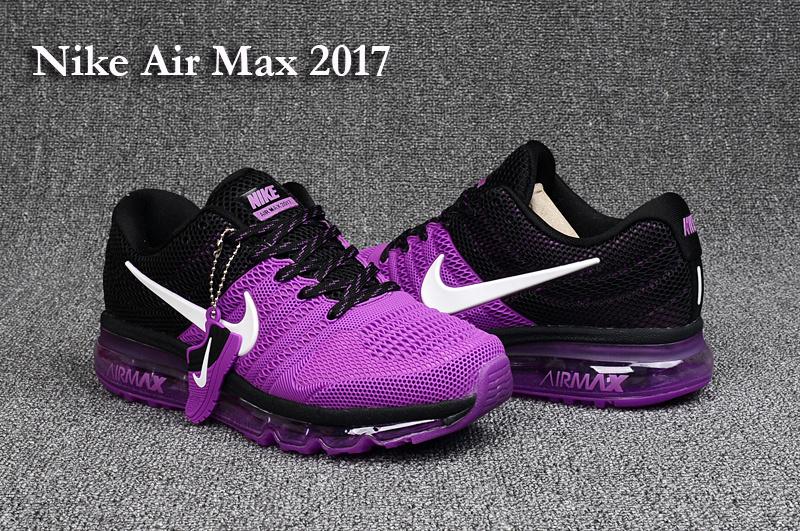 d2fd6b948 Nike Air Max 2017 KPU Purple Black White Women's Running Shoes ...