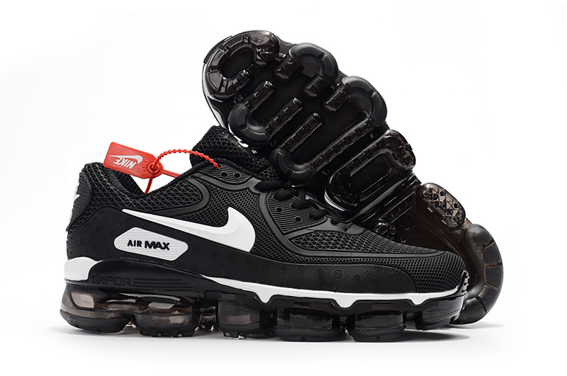 info for 51c8b 39d06 Off White x Nike Air Max 90 KPU Black White 875695 008 Men s Running Shoes  Sneakers