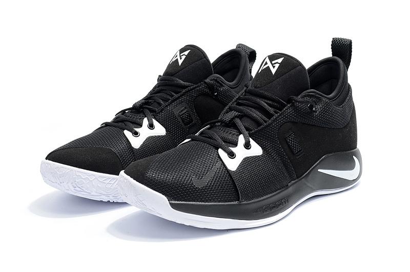 f643b1cd304e3 Nike Paul George PG2 Playstation Black White Men's Basketball Shoes ...