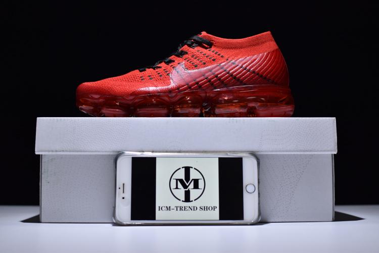 7b94767a6fb0 Nike Air VaporMax Flyknit CLOT University Red Black Men s Running ...