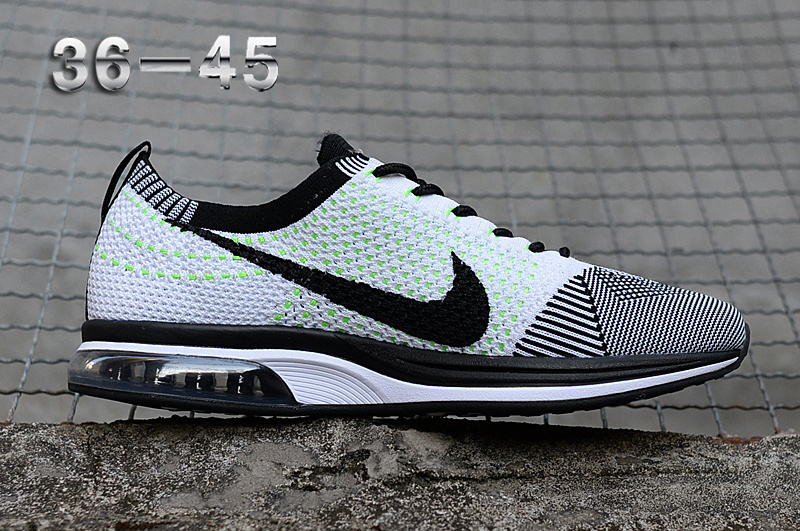 newest 122b2 5b14b Nike Air Zoom Mariah Flyknit Racer Grey Green White Black Women s Men s  Running Shoes