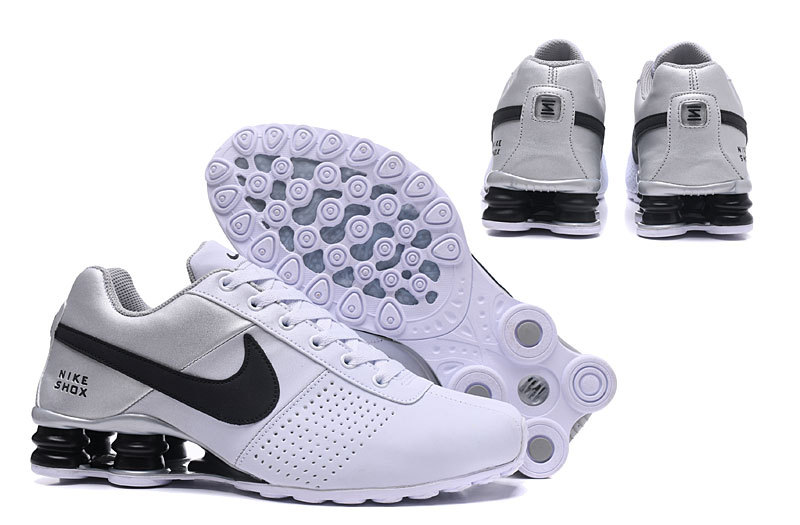 c502c0a3adf Nike Shox Deliver White Silver Black NZ Men s Running Shoes NIKE ...