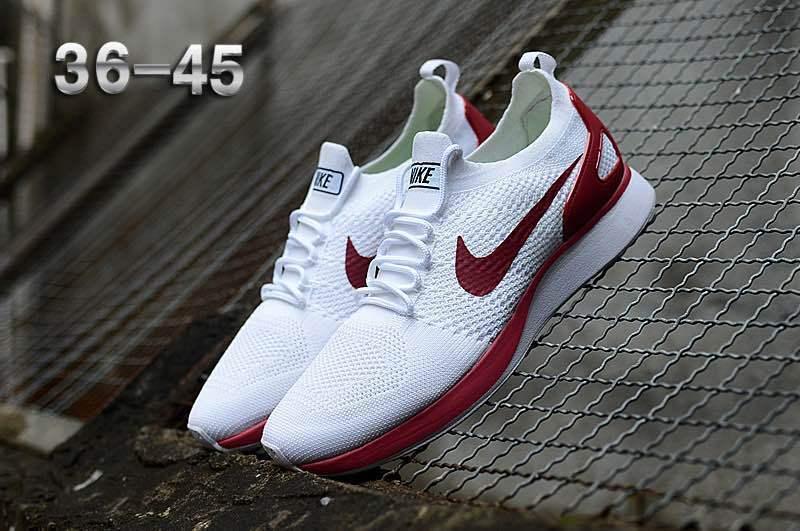 6f9fac3a1a5b Nike Air Zoom Mariah Flyknit Racer Burgundy White Women s Men s ...