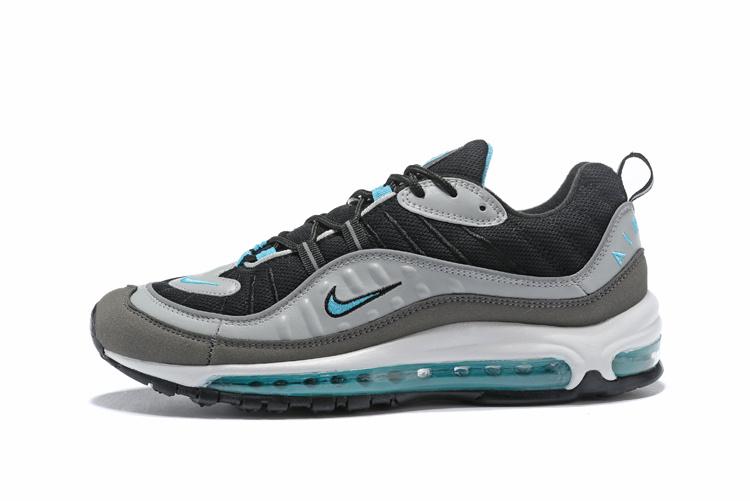 284a7da17b Top Quality Nike Air Max 98 OG White Black Racer Blue Volt Men's Running  Shoes