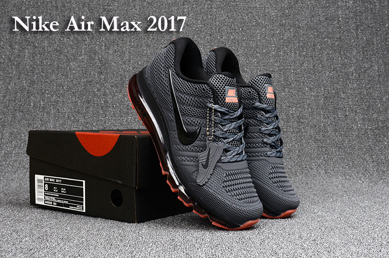wysoka jakość obuwie delikatne kolory Nike Air Max 2017 KPU Carbon Grey Red Men's Running Shoes 849559-004
