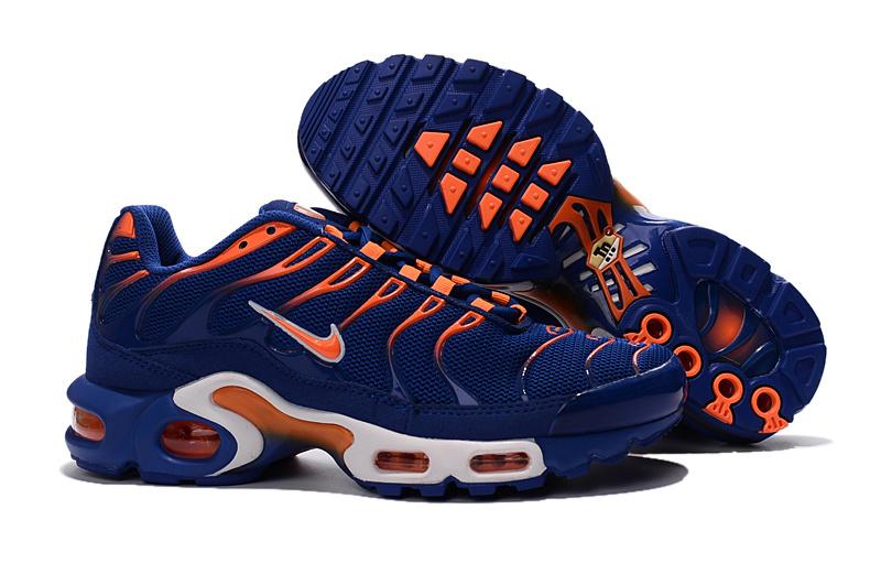 Nike Air Max Plus TN Indigo Orange Men's Running Shoes NIKE ST000874