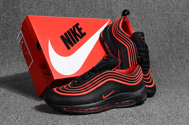 buy popular b96e0 7bc62 Nike Air Max 97 Kpu OG Playstation Black Red Men's Running Shoes NIKE-ST000681  | WithTheSale.com