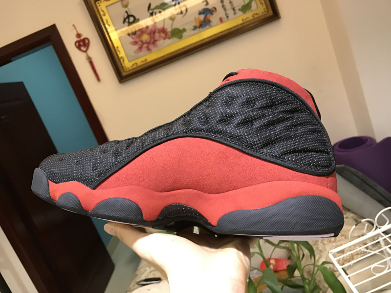 best sneakers 7fb0f f2614 Nike Air Jordan Retro 13 Playoffs Bred 3M Mens Athletic Basketball Shoes  414571-004