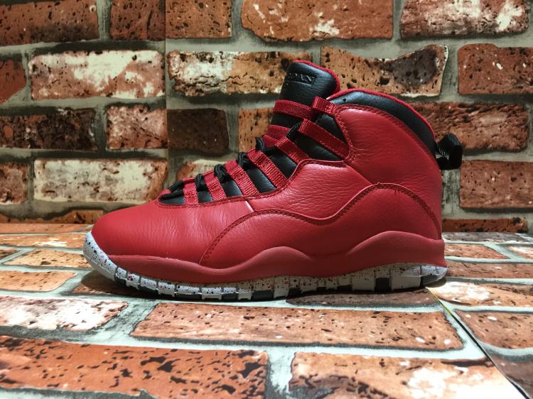 sale retailer 25601 2126c Nike Air Jordan Retro 10 X Bulls Over Broadway Gym Red Mens Athletic  Basketball Shoes 705178-601