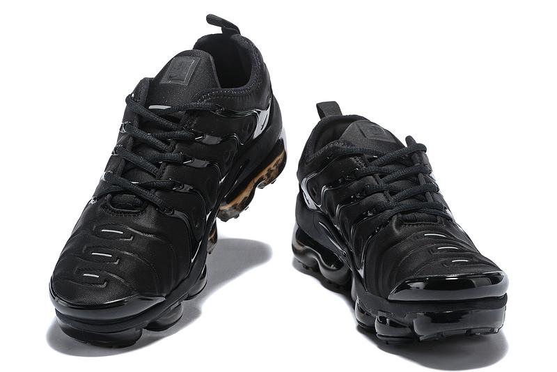 Nike Air Max Plus TN 2018 Triple Black Men s Running Shoes NIKE ... d865b6276