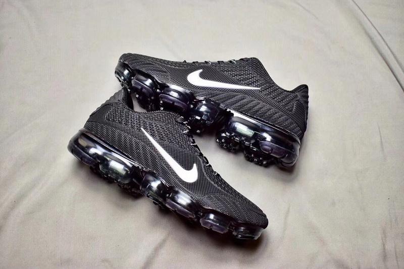 17c739671d8192 Nike Air Max 2018 Kpu VaporMax Black White Men s Women s Running Shoes