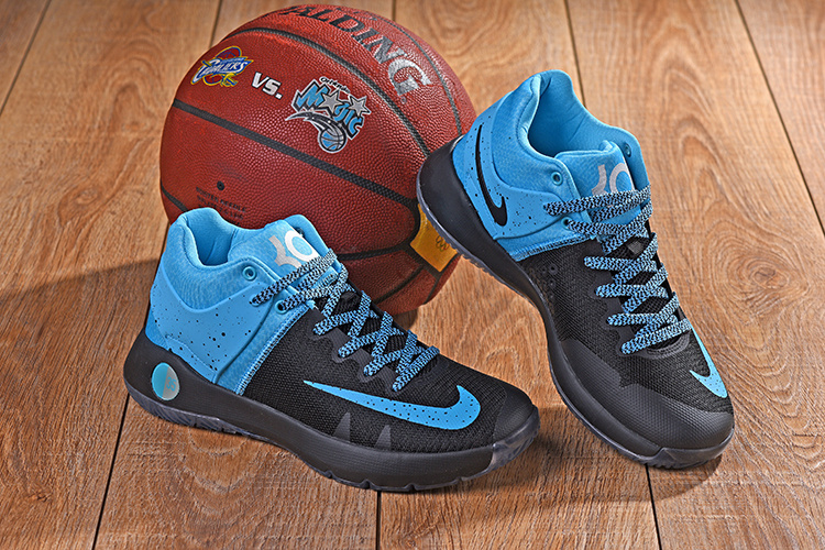 online retailer f3b8f 09194 nike running shoes 5 all blue basketball shoes