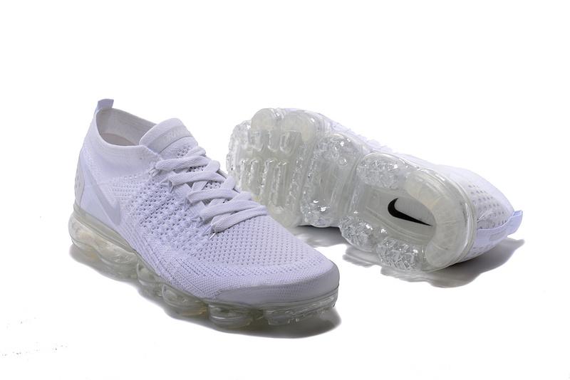 wholesale dealer 0414b 04cf4 Nike Air VaporMax Flyknit 2 TPU Triple White Women's Men's Running Shoes  NIKE-ST000581