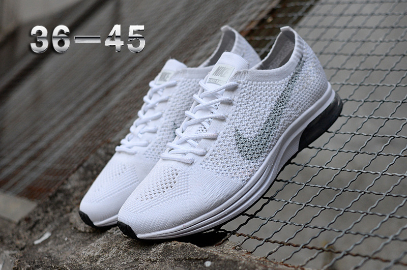 2dadfcbbb1b0 Nike Air Zoom Mariah Flyknit Racer Platinum White Women s Men s Running  Shoes. Nike Air Zoom Mariah Flyknit Racer Platinum White Women s Men s ...