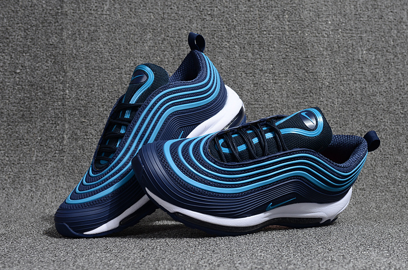 Nike Air Max 97 Kpu OG Playstation Navy Blue Hyper Jade White Men's Running Shoes NIKE ST000680