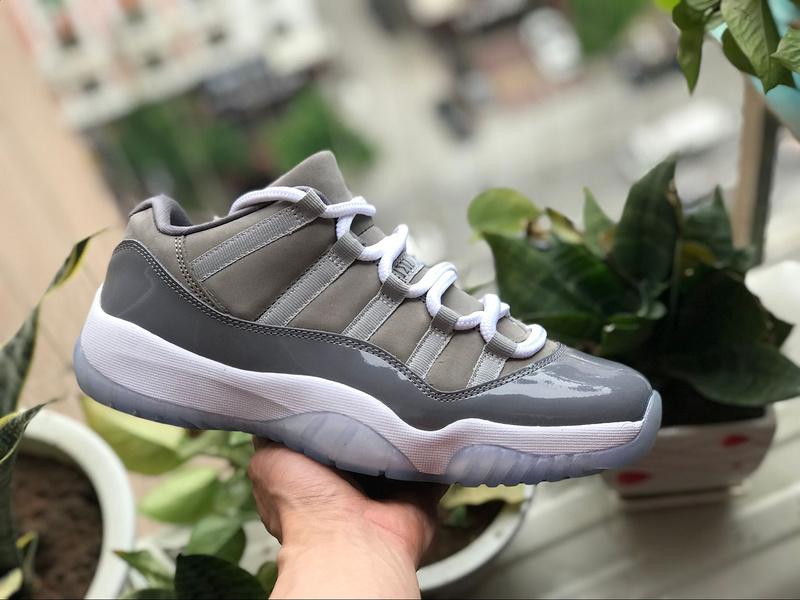 brand new cc1f0 30654 Nike Air Jordan Retro 11 Low Cool Grey Mens Athletic Basketball Shoes  528895-003
