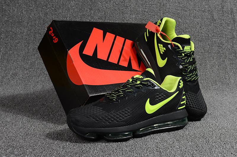 be82aea399 Nike Air Max Flair KPU 2019 Black Green Men's Running Shoes NIKE ...