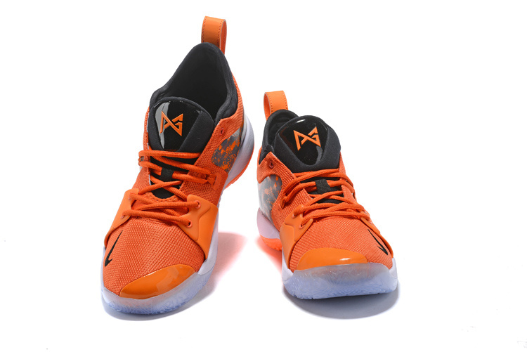 best service 53132 74605 Nike Paul George PG 2 PE Against The Lakers Orange Black Men's Basketball  Shoes NIKE-ST001433