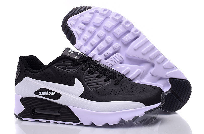 Nike Air Max 90 Ultra Moire Black White Men's Running Shoes Sneakers NIKE ST000245