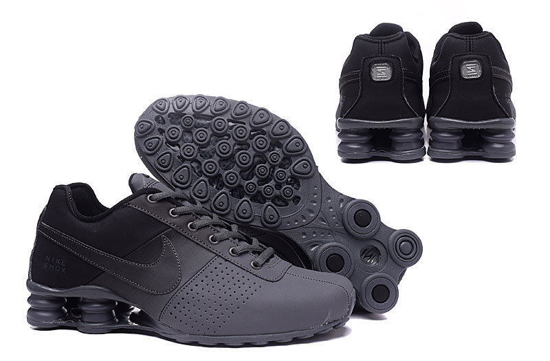 5e23d65763c Nike Shox Deliver Grey Black NZ Men s Running Shoes NIKE-ST000350 ...